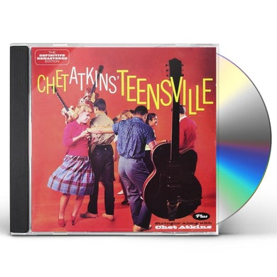 TEENSVILLE + STRINGIN' ALONG WITH CHET ATKINS CD