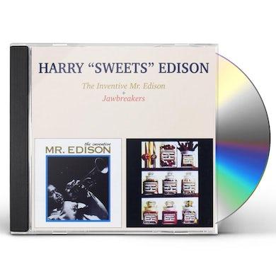 "Harry ""Sweets"" Edison INVENTIVE MR. EDISON + JAWBREAKERS CD"