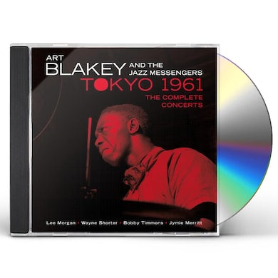 Art Blakey IN TOKYO 1961 THE COMPLETE CONCERTS CD