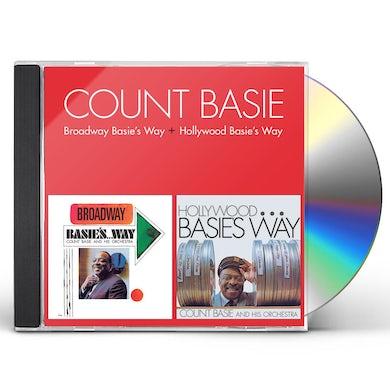 Count Basie BROADWAY BASIE'S WAY + HOLLYWOOD BASIE'S WAY CD
