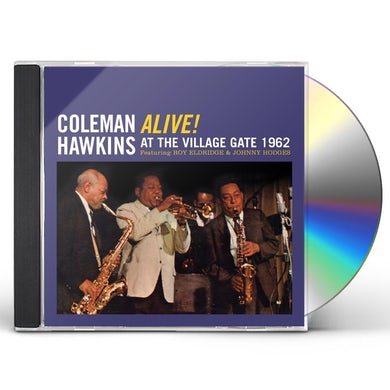 Coleman Hawkins ALIVE! AT THE VILLAGE GATE 1962 CD