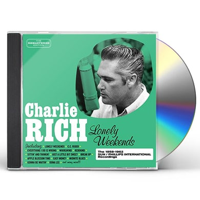 Charlie Rich LONELY WEEKENDS CD