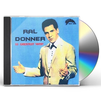 Ral Donner 33 GREATEST HITS CD