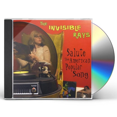 Invisible Rays SALUTE THE AMERICAN POPULAR SONG CD