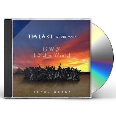 Becky Hobbs TSA LA GI-WE ARE MANY CD
