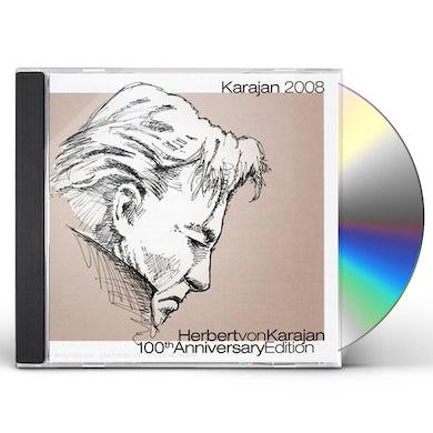 Herbert Von Karajan  HEBERT VON KARAJAN 100TH. ANNIVERSARY EDITION CD