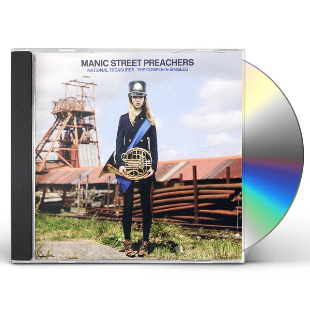 Manic Street Preachers NATIONAL TREASURES: COMPLETE SINGLES CD