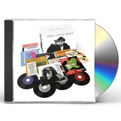 Igor Stravinsky COMPLETE ALBUM COLLECTION CD