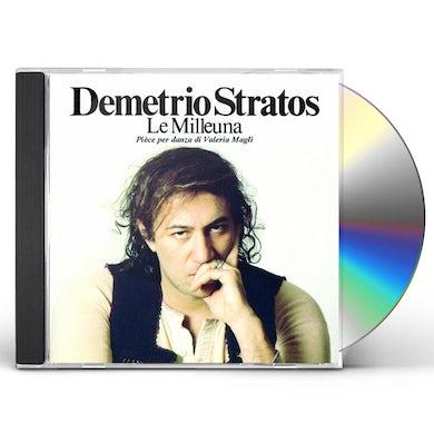 Demetrio Stratos LE MILLEUNA CD