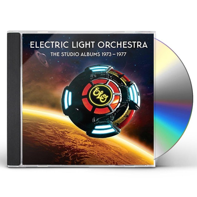 ELO (Electric Light Orchestra) STUDIO ALBUMS 1973-1977 CD