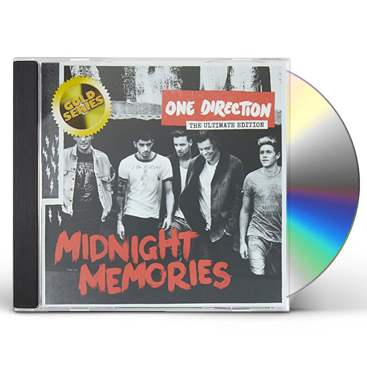 One Direction MIDNIGHT MEMORIES DELUXE (GOLD SERIES) CD