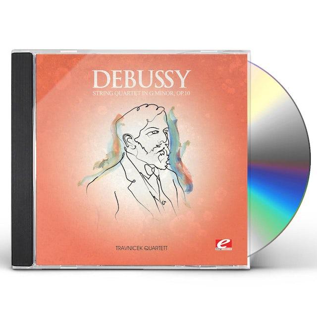 Debussy STRING QUARTET G MINOR OP 10 CD