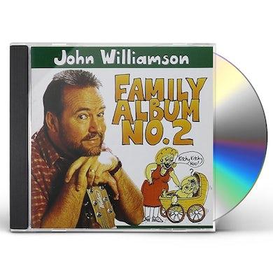 John Williamson FAMILY ALBUM NO.2 CD