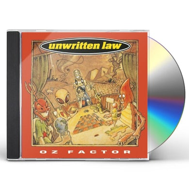 Unwritten Law OZ FACTOR CD