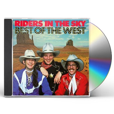 Riders In the Sky BEST OF THE WEST CD