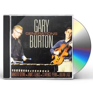 Gary Burton GENERATIONS CD