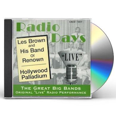 Les Brown HOLLYWOOD PALLADIUM CD