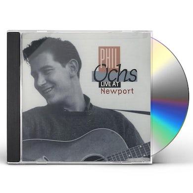 Phil Ochs LIVE AT NEWPORT CD