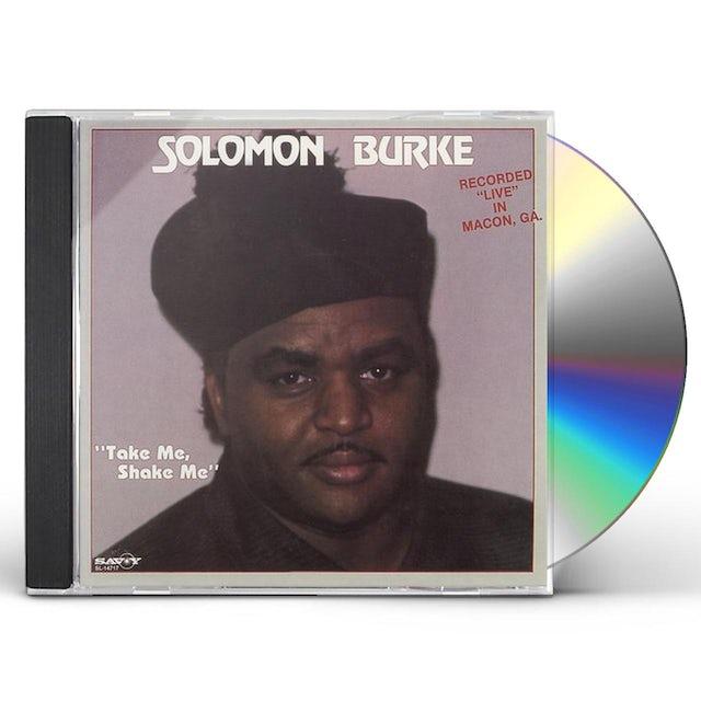 Solomon Burke TAKE ME SHAKE ME CD