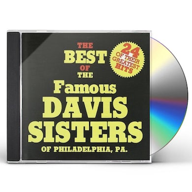 Davis Sisters 24 OF THEIR GREATEST HITS CD