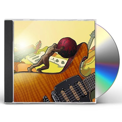 Paul Gilbert STONE PUSHING UPHILL MAN CD