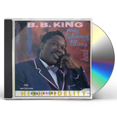 B.B. King EASY LISTENING BLUES CD