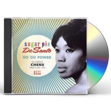 Sugarpie Desanto GO GO POWER: COMPLETE CHESS SINGLES 1961-1966 CD