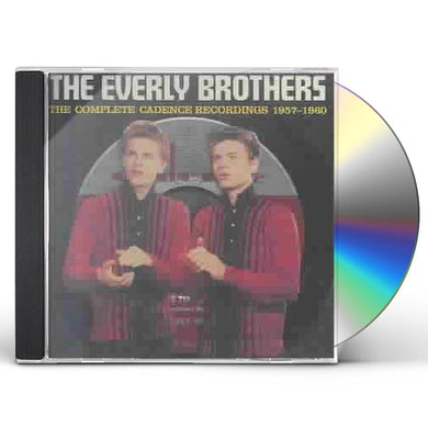 The Everly Brothers COMPLETE CADENCE RECORDINGS 1957-1960 CD