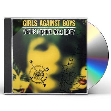 Girls Against Boys VENUS LUXURE #1 BABY CD