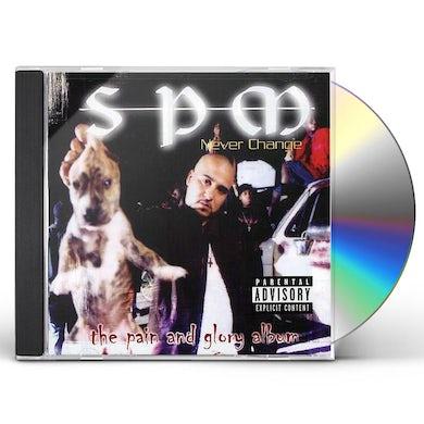 SPM NEVER CHANGE CD