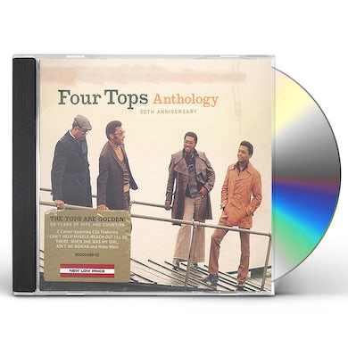 Four Tops 50TH ANNIVERSARY ANTHOLOGY CD