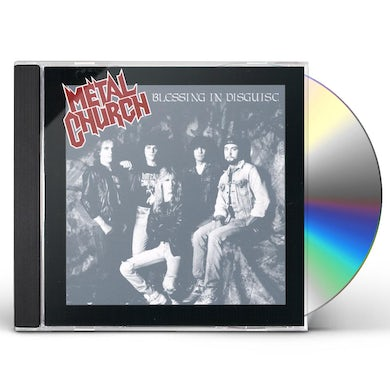 Metal Church BLESSING IN DISGUISE CD