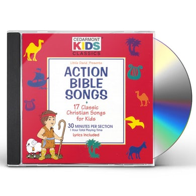 Cedarmont Kids CLASSICS: ACTION BIBLE SONGS CD