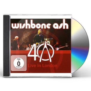 Wishbone Ash 40TH ANNIVERSARY LIVE CD