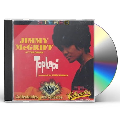 Jimmy Mcgriff AT THE ORGAN - TOPKAPI CD