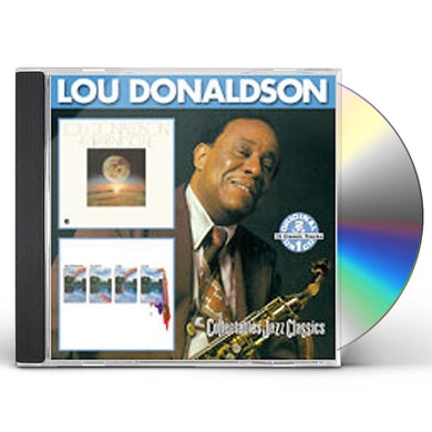 Lou Donaldson DIFFERENT SCENE / COLOR AS A WAY OF LIFE CD