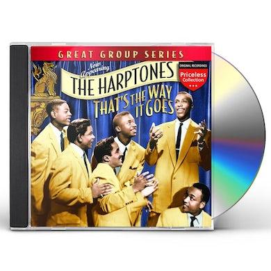 Harptones THAT'S THE WAY IT GOES CD