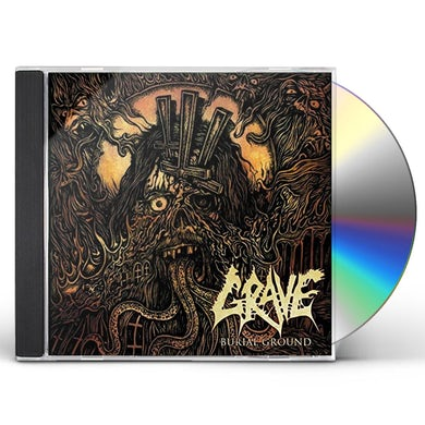 Grave BURIAL GROUND CD