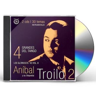 Anibal Troilo GRANDES DEL TANGO 4 CD
