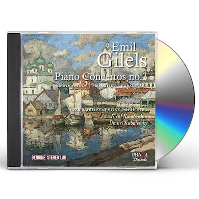 Emil Gilels PLAYS RUSSIAN PIANO CONCERTOS CD