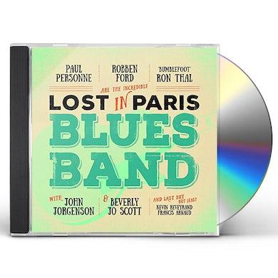 Paul Personne LOST IN PARIS BLUES BAND CD