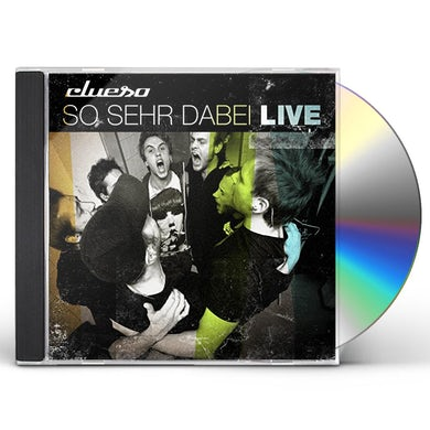 CLUESO SO SEHR DABEI-LIVE CD