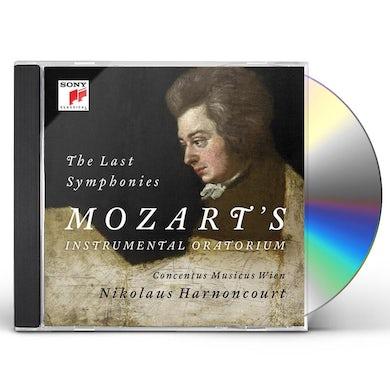 Nikolaus Harnoncourt MOZART: SYMPHONIES NOS. 39. 40 & 41 CD