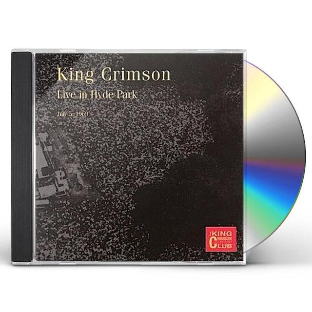 King Crimson COLLECTOR'S CLUB: 1969.7.5 HYDEPARK CD