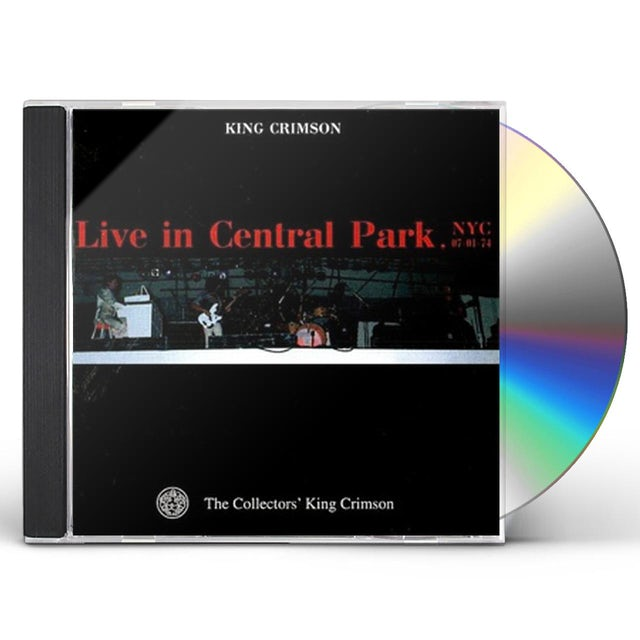 King Crimson COLLECTOR'S CLUB: 1974.7.1 CENTRAL CD