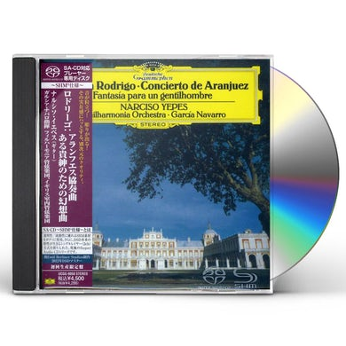 Narciso Yepes RODRIGO: CONCIERTO DE ARANJUEZ CD