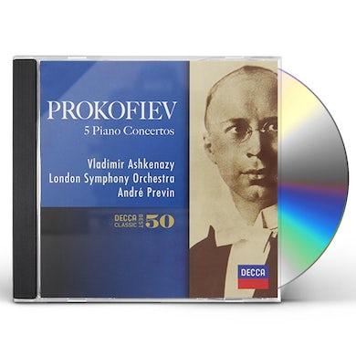 Vladimir Ashkenazy PROKOFIEV: PIANO CONCERTOS CD