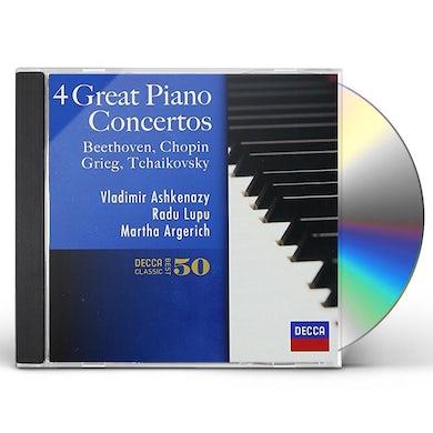 Vladimir Ashkenazy FAVORITE PIANO CONCERTOS CD