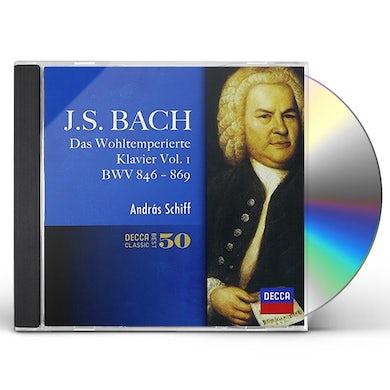 Andras Schiff J.S.BACH: DAS WOHLTEMPERIRTE CLAVIER CD