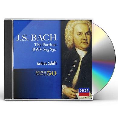 Andras Schiff J.S.BACH: SIX PARTITAS CD